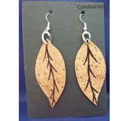 Earrings (LC-822 model) from the manufacturer Luisa Cork